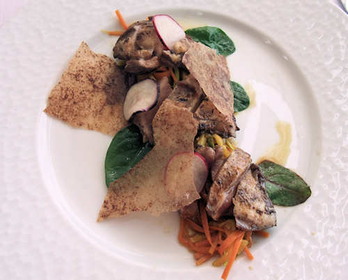 Breast of quail starter