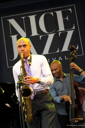 Joshua Redman at the Nice Jazz Festival