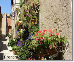 Biot's flowery streets