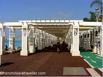Pergola on the Promenade des Anglais