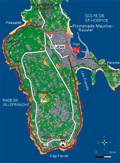 Walks in St Jean Cap Ferrat