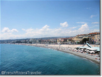 Nice and the baie des anges